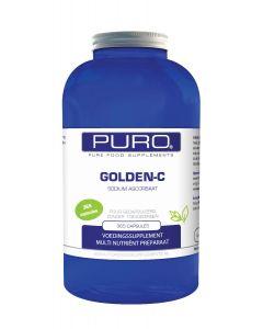 Puro Golden C 365 capsules (goed opneembaar, maagvriendelijke vitamine C)