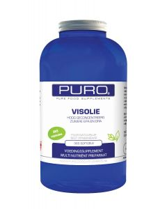 Puro Visolie 365 capsules (Omega Vetzuur)