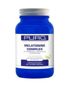 Puro Melatonine Complex 60 capsules (vernieuwde samenstelling)