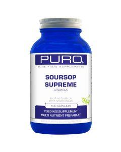 Puro Soursop / Zuurzak / Graviola Supreme 100 capsules