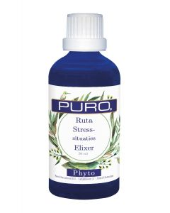 Puro tinctuur Ruta Stress-situaties Elixer Phyto 50ml