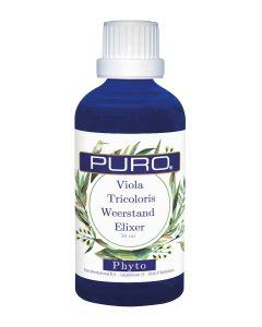 Puro tinctuur Viola Tricoloris Weerstands Elixer Phyto 50ml