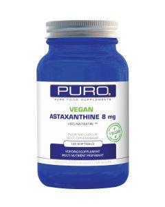 Puro Astaxanthine 8mg Vegan 120 capsules