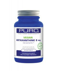 Puro Astaxanthine 8mg Vegan 60 capsules