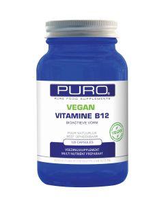 Puro Vitamine B12 Bio-actieve vorm Vegan 120 capsules