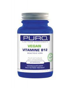 Puro Vitamine B12 Bio-actieve vorm Vegan 60 capsules