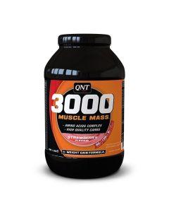 QNT Weight Gain Muscle Mass 3000 Aardbei 1300 gram