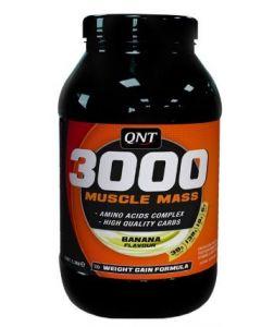 QNT Weight Gain Muscle Mass 3000 Banaan 1300 gram