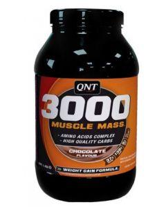 QNT Weight Gain Muscle Mass 3000 Chocolade 1300 gram