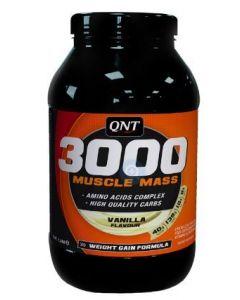 QNT Weight Gain Muscle Mass 3000 Vanille 1300 gram