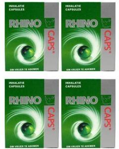 Rhino Inhalatiecapsules vier-pak 4x 16 capsules