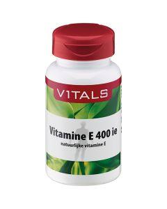 Vitals Vitamine E 400 i.e. 100 softgels (natuurlijke vitamine E (d-alfatocoferol))