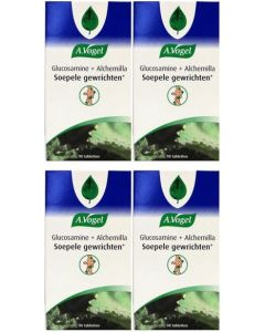 A Vogel Alchemilla Glucosamine vier-pak 4x 90 tabletten