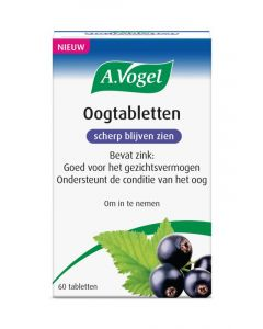 A. Vogel Oogtabletten  60 tabletten