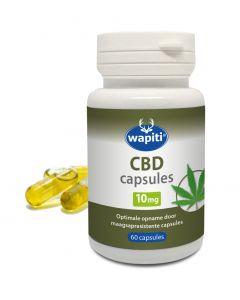 Wapiti CBD 10mg 60 capsules