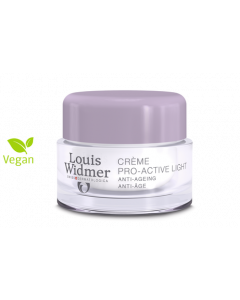 Louis Widmer Pro active creme light geparfumeerd 50ml