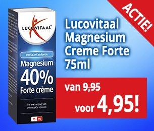 lucovitaal magnesium creme forte 75ml