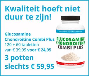 Glucosamine Chondroitine Combi Plus 120+60 tabletten